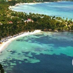 Aerial shot - Grand Paradise Samana, Dominican Republic wedding venue