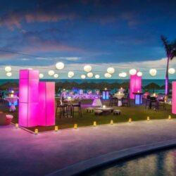 Hard Rock Vallarta Splash Terrace Party Setup