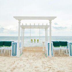 Moon Palace Golf Villas Beach Wedding