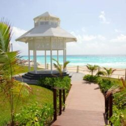Paradisus Cancun Beach View Gazebo