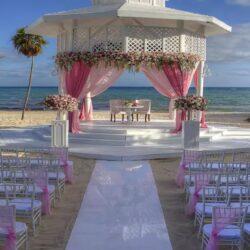 Paradisus La Esmeralda Wedding on the Beach