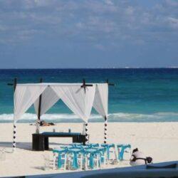 Playacar Palace Beach Wedding