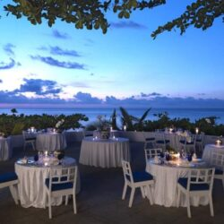 Round Hill Hotel Villas Wedding Dining