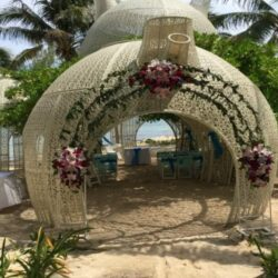 Sandos Caracol Unique Wedding Gazebo