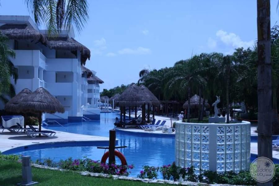 Grand Riviera Princess Resort Pool Area